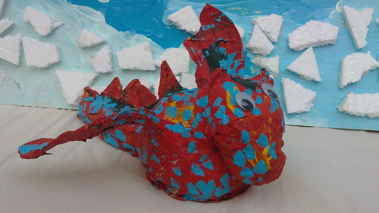 moyenne section  petit dragon à gros ventre
