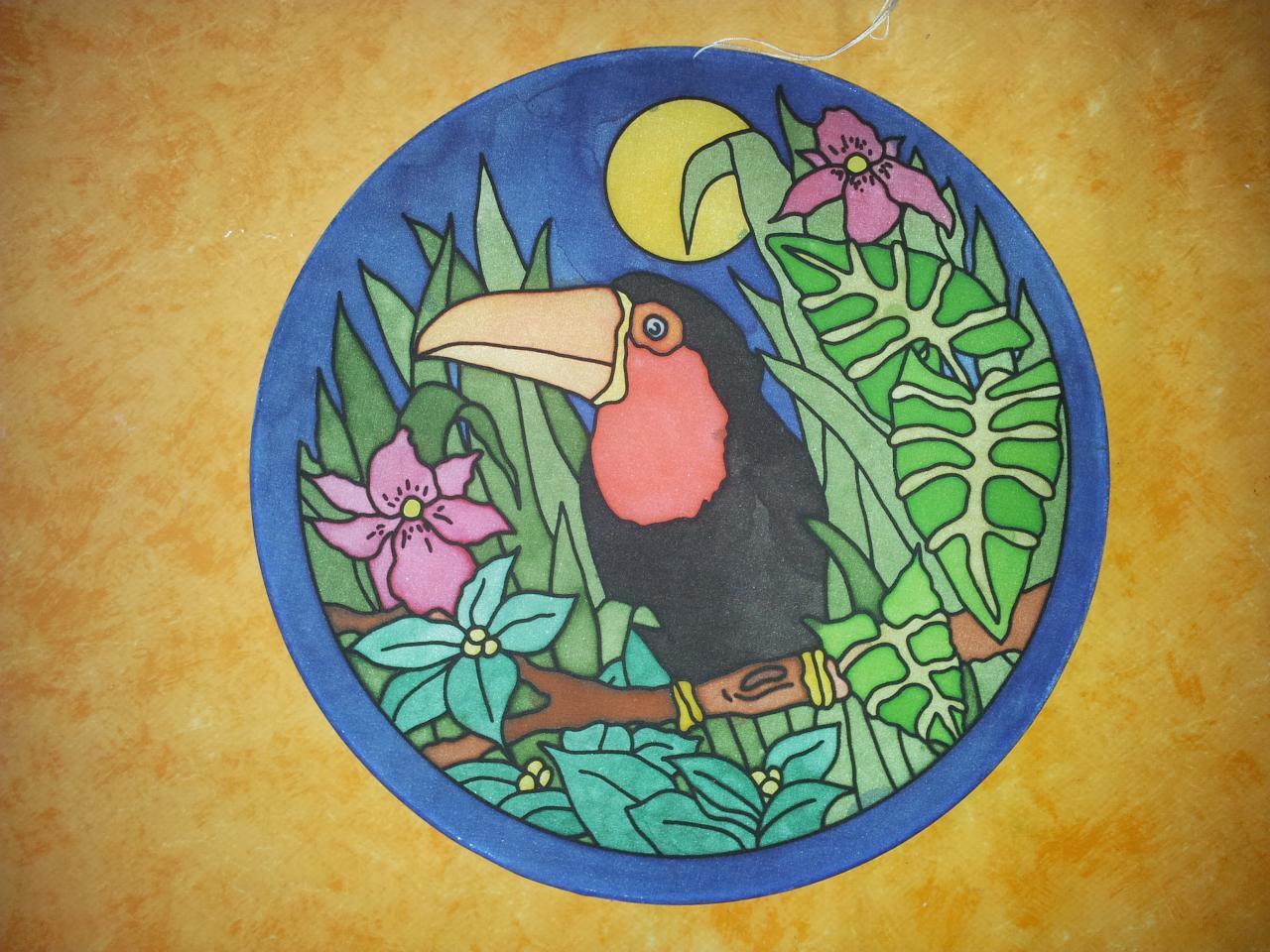 peinture su soie