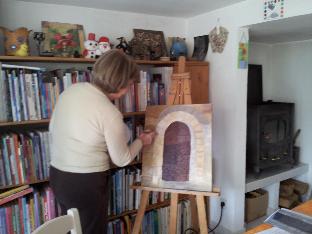 cours de peinture des adultes