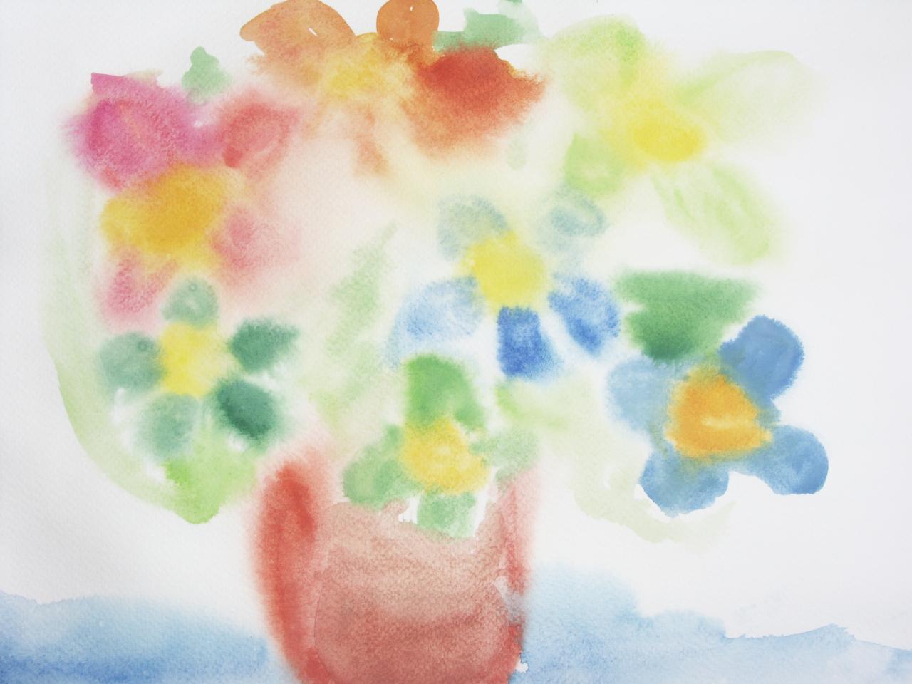 l'atelier de peinture des enfants