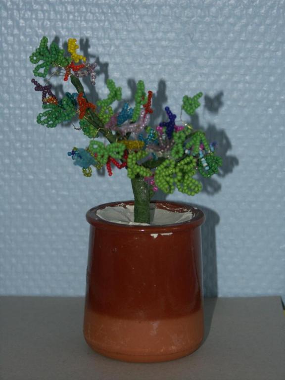 arbre en perles
