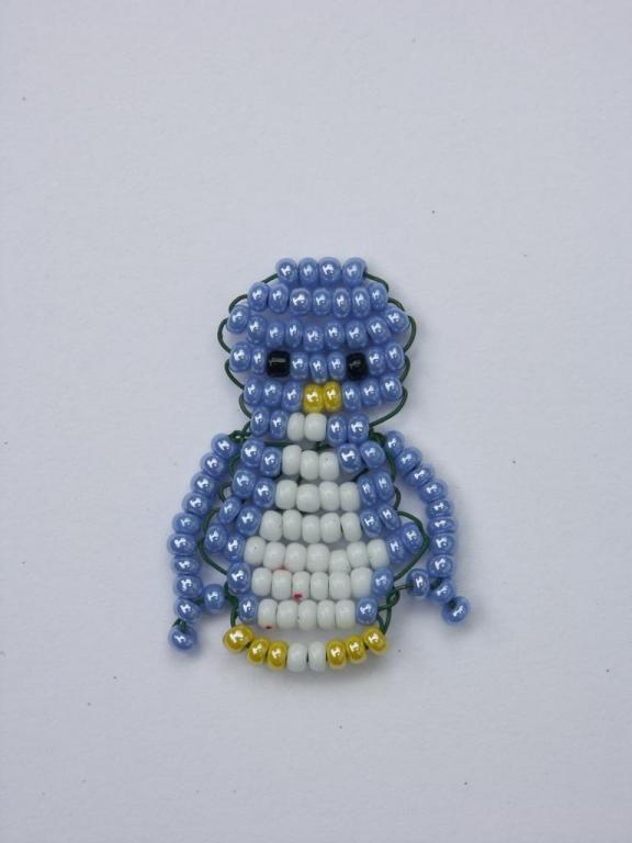 pingouin en perles