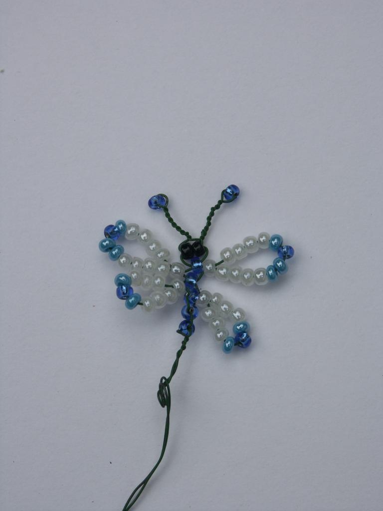 papillon en perles