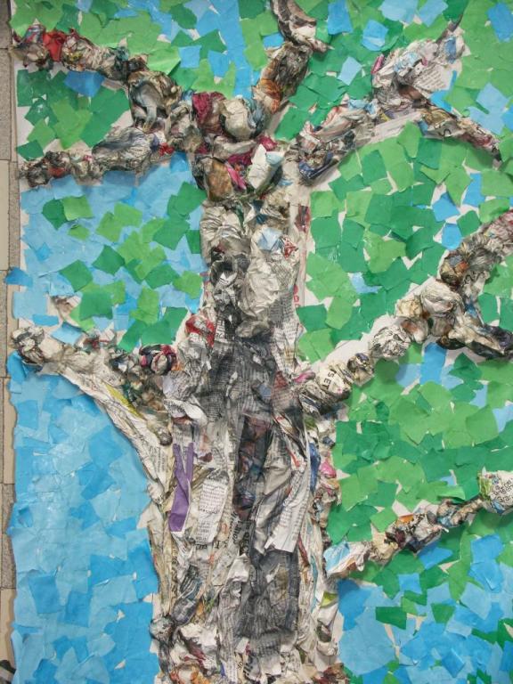 moyenne section décors pour le gland et le petit chêne